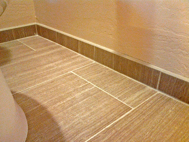 tile floor baseboard gallery - home flooring design