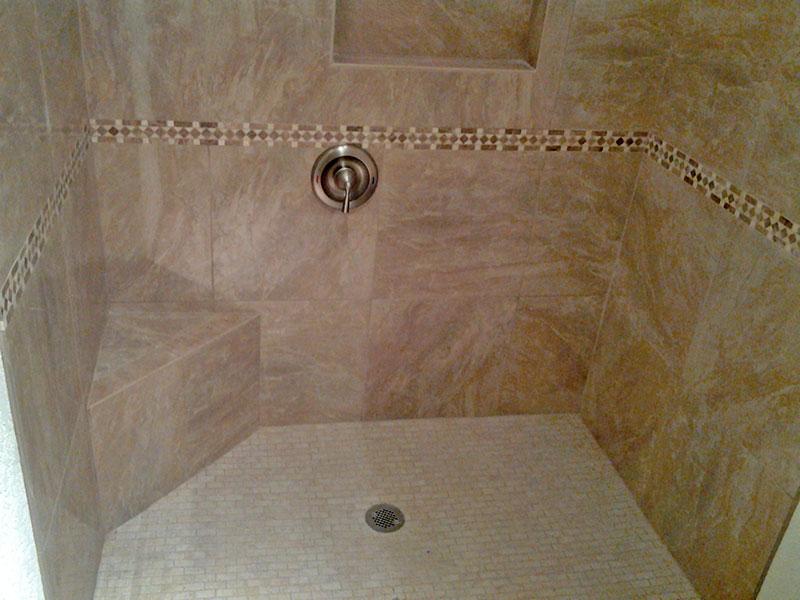 bathroom-remodel-custom-marble-shower-bench-tile-floor | San Tan ...