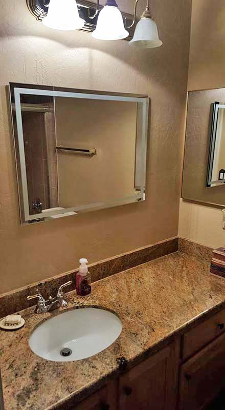 Complete Bathroom Remodel complete bathroom remodel in las sendas, mesa, az