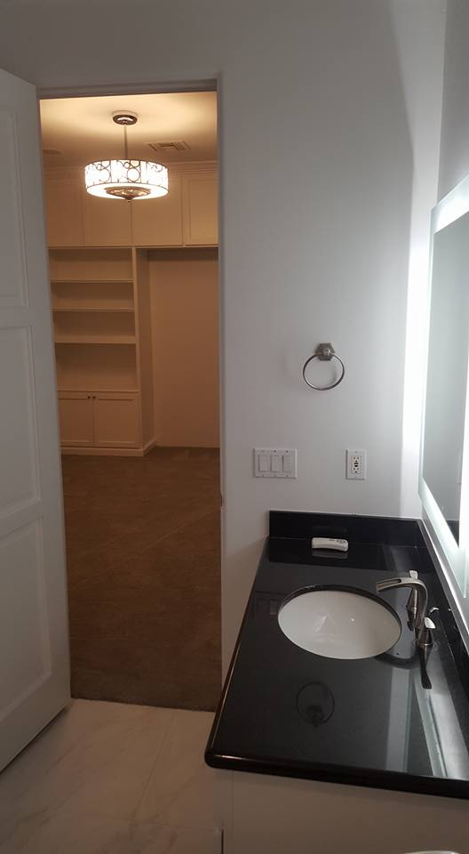 Ultra Modern Marble Tile Bathroom Remodel | San Tan Remodeling