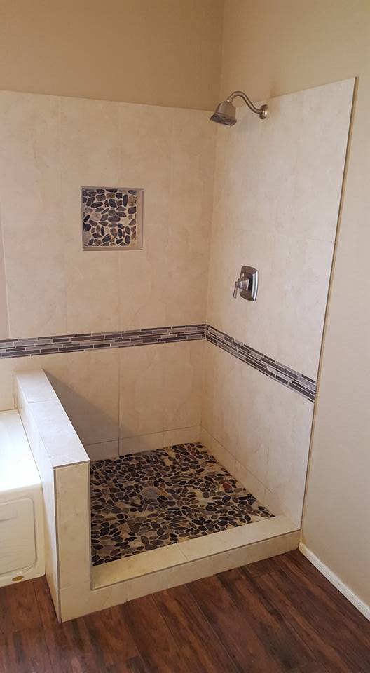 master bathroom remodel with new jacuzzi tub san tan remodeling
