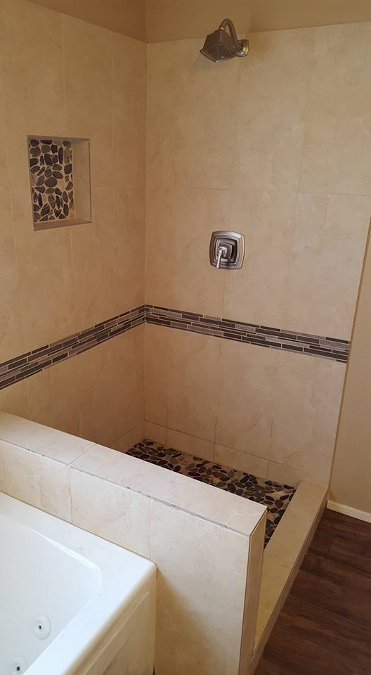 Master Bathroom Remodel with New Jacuzzi Tub | San Tan Remodeling