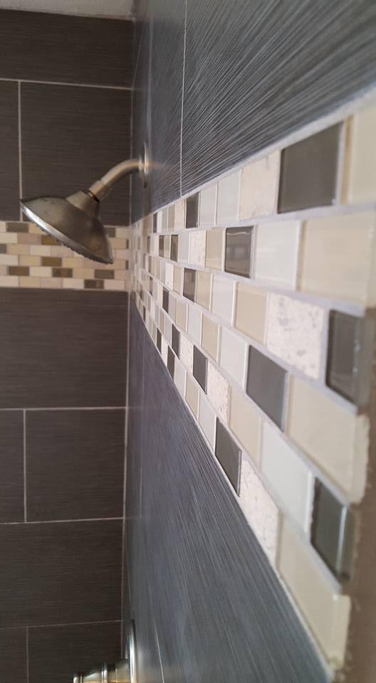 Ultra Modern Tile Bathroom Remodel | San Tan Remodeling