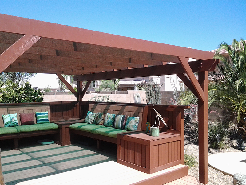 Queen Creek, Arizona - Outdoor Pergola