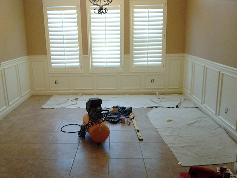 Wainscoting, Home Remodeling in Las Sendas, Mesa, AZ